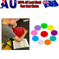 10 x Dry Erase Table Circles for Reading Groups Guided Reading Vinyl Desk Decals