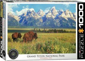 Grand Teton National Park 1000 Piece Jigsaw Puzzle by Eurographics USA Made