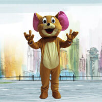 Rat Animal Mascot Costume Suit Cosplay Party Game Dress Outfit Halloween Adults
