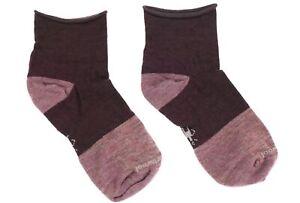 Smartwool 272961 Women's Luna Mini Boot Socks Bordeaux Size M