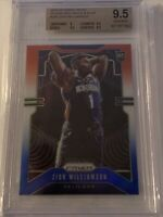 2019-2020 PANINI PRIZM ZION WILLIAMSON RED WHITE BLUE RARE #248 BGS 9.5 PSA 10?