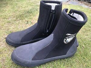 Beaver Titanium Technology Advanced Wetsuit Boots: Uk 9