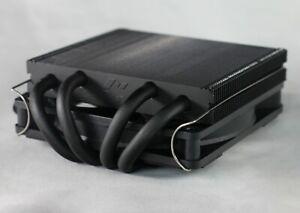 Black METALFISH Z39 CPU Cooler 39mm Radiator Heatsink compatible with Velka 3/5