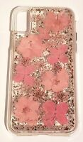 Case-Mate Karat case for iPhone X & iPhone XS (10) - Pink Petals