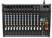 Non-Powered Pro Audio Mixers with Fader-Type Control