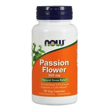 NOW Foods Passion Flower, 350 mg, 90 Veg Capsules