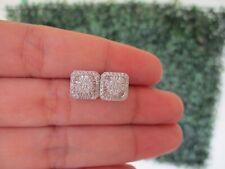 """.72 CTW Diamond Earrings 18k White Gold E365 sep """"SP"""""""