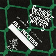 New listing Butthole Surfers 1993 Independent Worm Saloon concert tour Backstage Pass