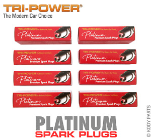 PLATINUM SPARK PLUGS - for HSV XU8 5.0L V8 VT (304 LB9) TRI-POWER