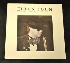 SEALED OLD STOCK Elton John Geffen 24077 Ice On Fire