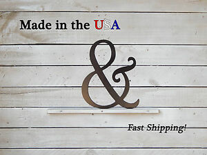 Ampersand Sign-Metal And Sign-& Sign-Wedding Decor-And Symbol-Fancy And-F1002