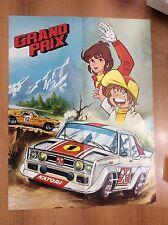 GRAND PRIX POSTER TIVU' 42x55 del 1981  NOI SUPEREROI nr 12