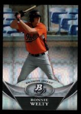 RONNIE WELTY ORIOLES ROOKIE CHROME XFRACTOR RC SP 2011 BOWMAN PLATINUM PROSPECTS