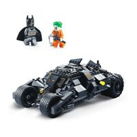DC Batman Superhero Batmobile Car Legoed Building Blocks Educational Toys Set