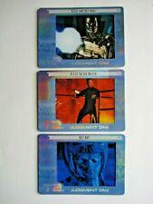 2003 ARTBOX TERMINATOR 2 FILMCARDZ COMPLETE 3 CARD *ULTRA RARE* CHASE SET