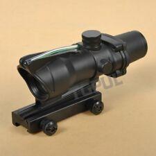 ACOG CHEVRON 4x32 Chevron BDC Scope Reticle Sight Clone Green Fiber Optic Scope