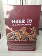 Hot Toys MMS160 Iron Man 2 Suit-Up Gantry & Iron Man Mark IV Figure Empty Box