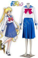 Sailor Moon Princess Tsukino Usagi Sailor School Uniform Cosplay Costume