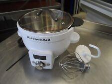 Ex DEMO KitchenAid 5KSM1CB Precise Heat Mixing Bowl 2 Attac  £200 + Vat
