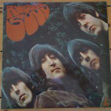 Los PC 3075 The Beatles Rubber Soul una etiqueta de la caja