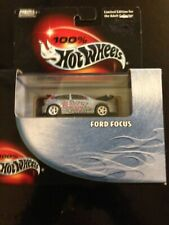 Hot Wheels Ford Focus R/R Comes in Plastic Display Box has crease on top left