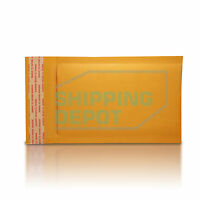 """25 #000 4x8 Kraft Bubble Mailers Self Seal Padded Envelopes 4""""x8"""" Secure Seal"""