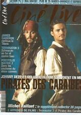 STUDIO CINE LIVE N°70 PIRATES DES CARAIBES / JAMES CAMERON / TERMINATOR 3