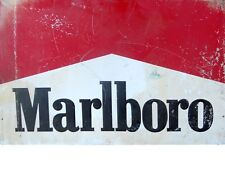 "TIN SIGN ""Marlboro Cigarettes"" Nicotine Deco Garage Wall Decor"