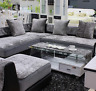 """Modern Velvet Chaise Sofa Cover Sectional  3-Solem Couch Covers, Chaise Sofa 28"""""""