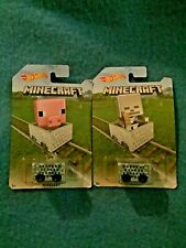 Hotwheels Minecraft Minecarts 2 Different cards