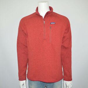 PATAGONIA Men's Better Sweater 1/4 Quarter Zip Fleece Pullover Jacket Sz XL