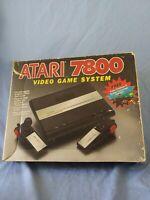 Atari 7800 Video Game System BOX JUST THE BOX