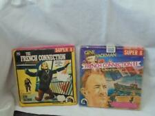 2 VINTAGE SUPER 8 FILMS - FRENCH CONNECTION - FRENCH CONNECTION II