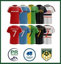 Manchester United Ronaldo CR7 Inspired retro selection of Tshirts - All Sizes