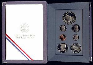 1991 Mt Rushmore Prestige 7 Coins Proof Set with rushmore Commemorative Silver $