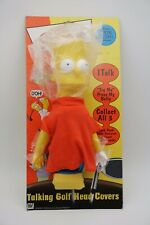 Bart Simpson Talking Golf Club Head Cover | New With Box | 2000 | The Simpsons