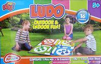 Giant Ludo Garden Game Outdoor or Indoor Family Fun
