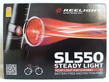 New Reelight SL550 steady bike bicycle rear light & dynamo no batteries