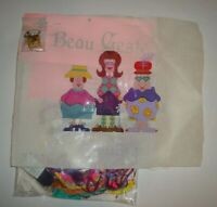 Beau Geste The Girls Shopping Ladies Hand Painted Needlepoint Canvas Guide Fiber