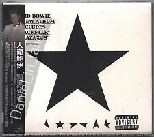 David Bowie: Blackstar (2016) CD OBI TAIWAN DIGIPAK