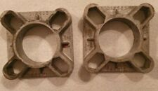 Vintage Alloy Cosmic 1inch Wheel Spacers X2 Mini Ford VW Triumph
