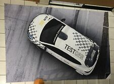 GRAND DRAPEAU FLAG VLAG RENAULT SPORT CLIO CUP TEST CAR LE CASTELET INTROUVABLE