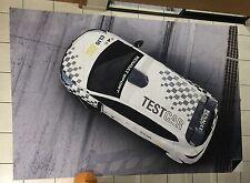 GRAND DRAPEAU FLAG VLAG RENAULT SPORT CLIO CUP TEST CAR LE CASTELET INTROUVABLE