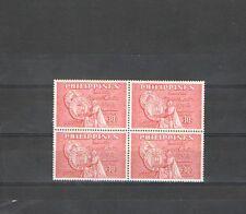 Q880 - FILIPPINE - 1959 - QUARTINA N°491 ** ATENEO DI MANILA