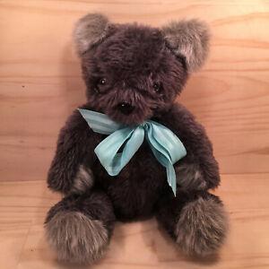 """SCRUFFY THE BEAR """"Grey"""" Gorgeous Faux Fur Teddy Bear Cuddly Soft Toy Friend"""