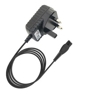 UK 3 Pin Plug Shaver Charger Power Lead for Philips Speed XL