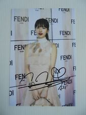 Suzy Bae Miss A 4x6 Photo Korean Actress KPOP auto signed USA Seller SALE F9