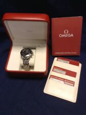 Omega Seamaster Chronograph Black Face Divers Watch