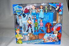 Famosa Disney Heroes Peter Pan Playset Cardboard Darling House Mansion RARE
