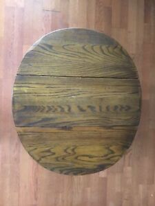 1968 Dropleaf End Table / Side Table by Thomasville Vintage